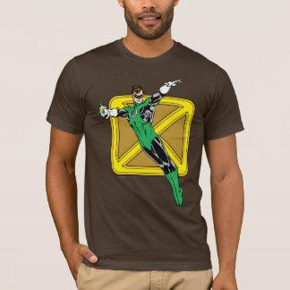 Lanterne verte avec l'arrière - plan t-shirt