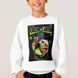 Lanterne verte avec le cap dans le combat sweatshirt