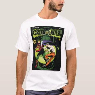 Lanterne verte avec le cap dans le combat t-shirt