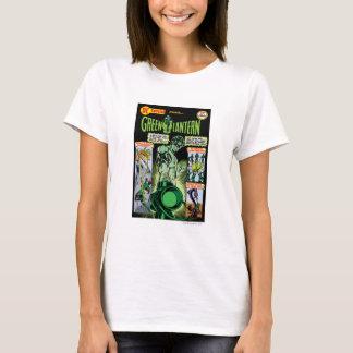 Lanterne verte - comique ombragé par vert t-shirt