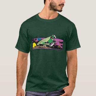 Lanterne verte dans l'espace t-shirt