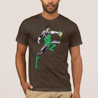 Lanterne verte dirigeant l'anneau t-shirt