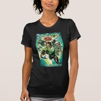Lanterne verte - dossiers et couverture secrets t-shirt