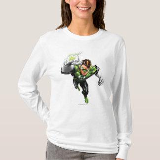 Lanterne verte - entièrement rendue, augmenter de t-shirt