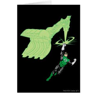 Lanterne verte - entièrement rendue, avec la cartes