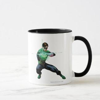 Lanterne verte et anneau rougeoyant mug