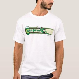 Lanterne verte et logo t-shirt
