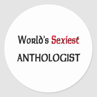 L'anthologiste le plus sexy du monde autocollants