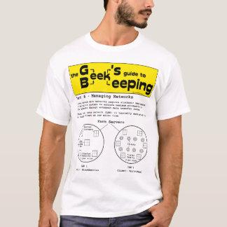 L'apiculture de geek (réseaux) - T-shirt blanc