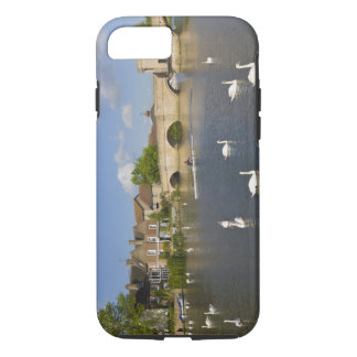 Lapidez le pont et la rivière arqués Ouse, St Coque iPhone 7