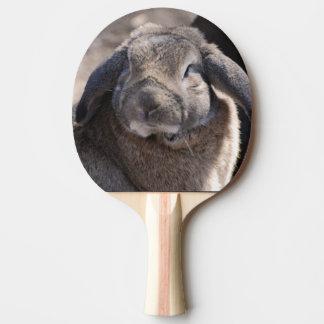Lapin à oreilles de Lop Raquette De Ping Pong