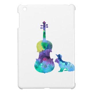 Lapin avec l'art d'alto coque iPad mini