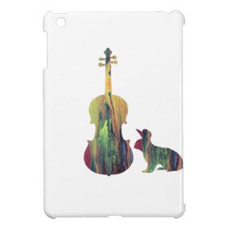 Lapin avec l'art d'alto coques pour iPad mini