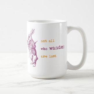Lapin blanc, Alice au pays des merveilles Mug Blanc