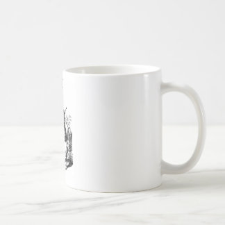 Lapin blanc - Alice au pays des merveilles Mug Blanc