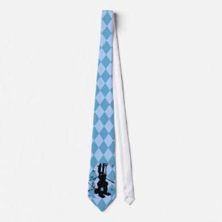 Lapin d'Alice en retard Cravates