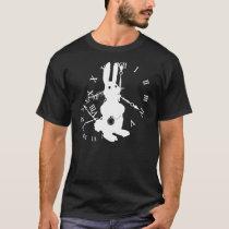 Lapin d'Alice en retard T-shirt