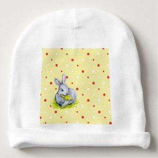 Lapin de cru de calotte de coton de bébé bonnet de bébé