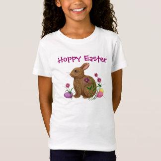 Lapin de houblon de Pâques Pâques - pièce en t T-Shirt