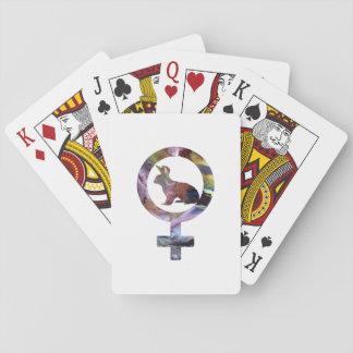 Lapin de Vénus Cartes À Jouer