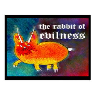 Lapin d'Evilness [carte postale] Carte Postale