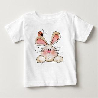 Lapin et insecte - T-shirt infantile