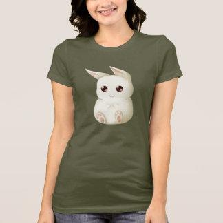 Lapin gonflé mignon de Kawaii T-shirt