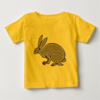 Lapin gris t-shirt pour bébé