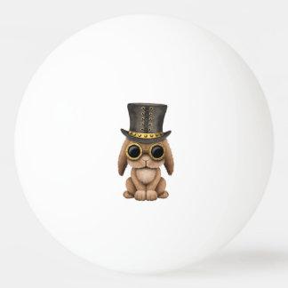 Lapin mignon de bébé de Steampunk Balle De Ping Pong