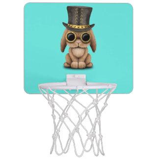 Lapin mignon de bébé de Steampunk Mini-panier De Basket