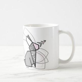 Lapin origami mug