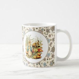 Lapin vintage par Beatrix Potter. Tasses de cadeau