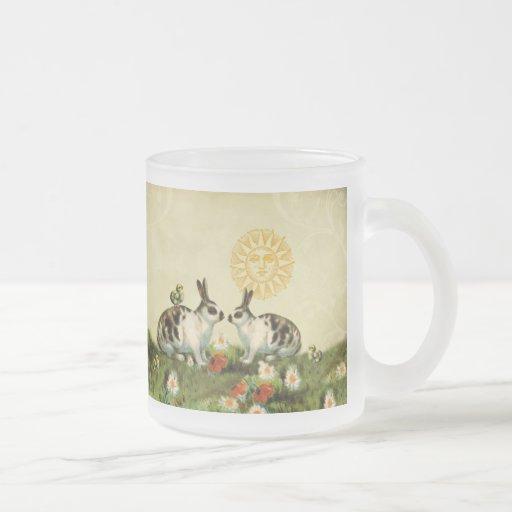 Lapins de Pâques vintages Mugs