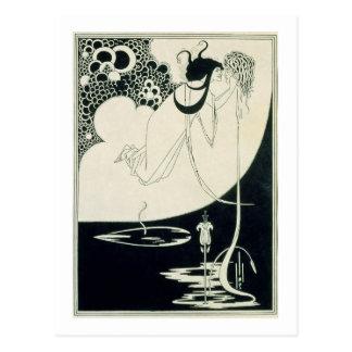 """L'apogée, illustration de """"Salome"""" par des WI Carte Postale"""