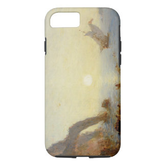 L'appel des sirènes (huile sur la toile) coque iPhone 7