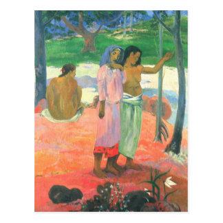 L'appel - Paul Gauguin Cartes Postales