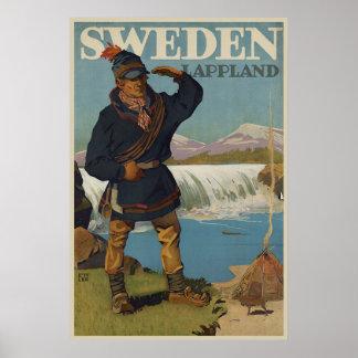 Lappland Suède Posters