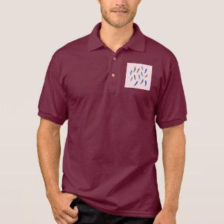 L'aquarelle fait varier le pas du T-shirt du polo