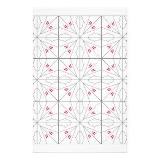 L'arabe ornemente l'illustration simple d'art papier à lettre customisé