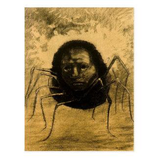 L'araignée pleurante carte postale