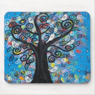 L'arbre de paix tapis de souris