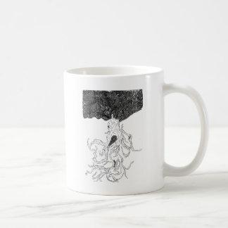 L'arbre fol mug blanc