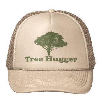 L'arbre Hugger pensent le vert Casquette