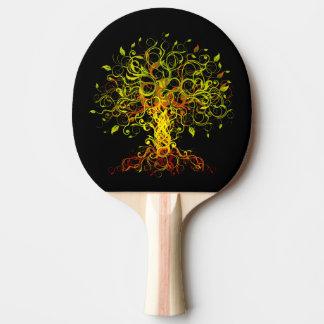 L'arbre tourbillonne palette de ping-pong raquette de ping pong