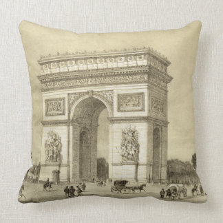 L'Arc de Triomphe, Paris, gravé par Auguste Bry Coussin