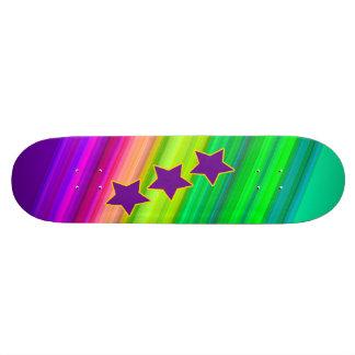 L'arc-en-ciel Skateboards Personnalisables