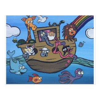 L'arche de Noé Carte Postale