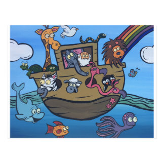 L'arche de Noé Cartes Postales