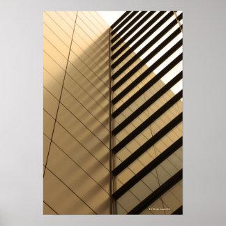 L'architecture moderne, jaunissent modifié la tona affiche