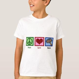 Lard d'amour de paix t-shirt